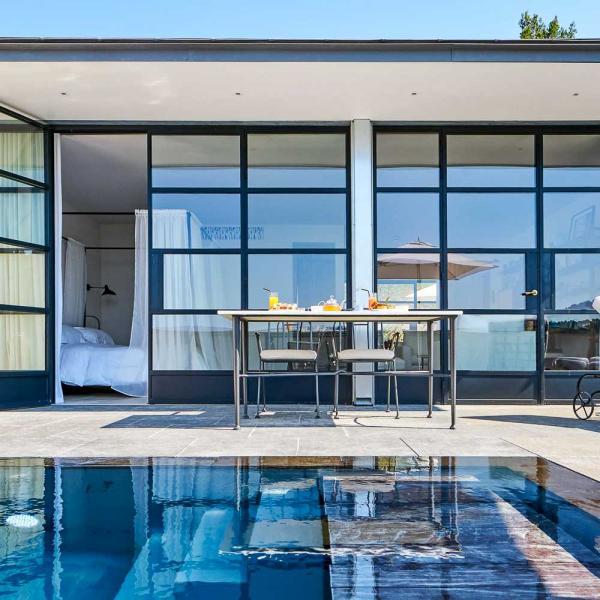 Villa La Coste | Suite avec piscine © Richard Haughton