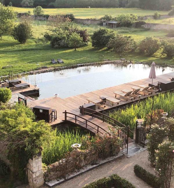 Château de l'Epinay – La piscine naturelle © DR