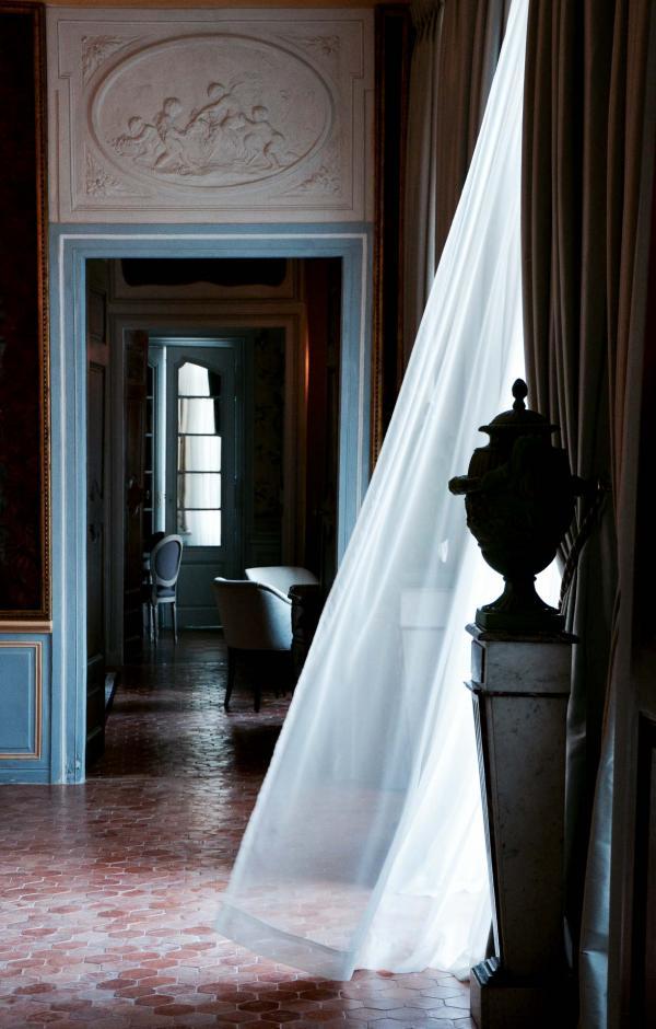 Les élégants intérieurs du Château de Fonscolombe © Emmanuel Laveran