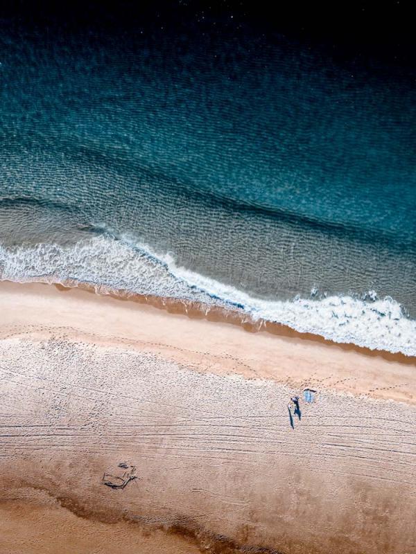 L'embouchure du courant d'Huchet © Yohan Espiaube