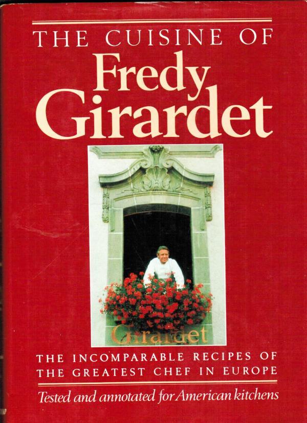 Livre de cuisine du chef suisse Frédy Girardet, source d'inspiration de Pierre Gagnaire © DR