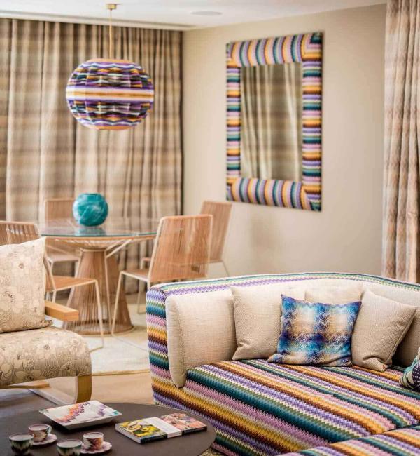 Hôtel Byblos Saint-Tropez – Suite Missoni Home © DR