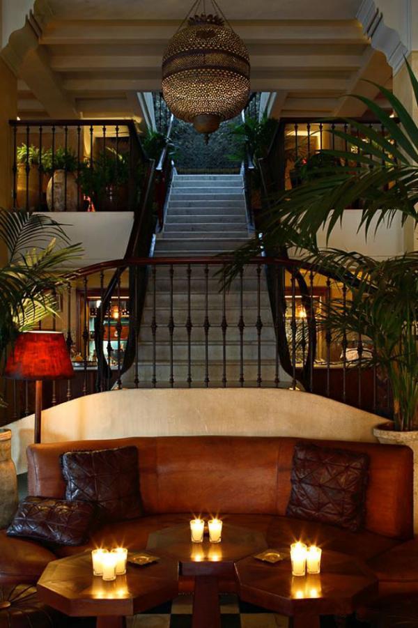 Déco coloniale au Grand Café de la Poste, adresse incontournable de Guéliz | © Grand Café de la Poste