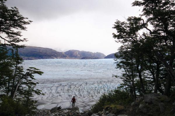Le glacier Grey – Circuit O | © Cédric Aubert