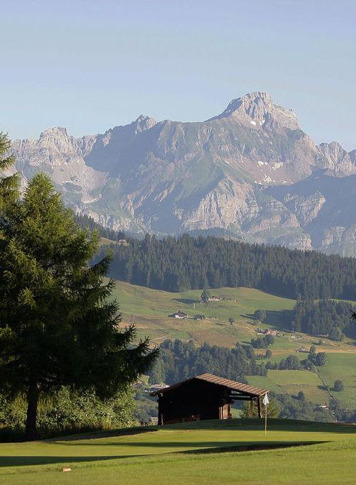Le golf du Mont d'Arbois.  | © P. Schaff