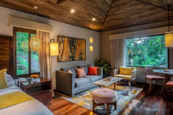 El Silencio Lodge & Spa - Intérieur d'une villa © DR