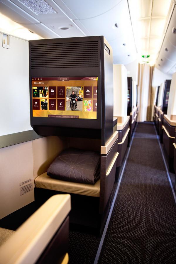 La configuration 1-2-1 garantit un accès à l'allée à tous les passagers © Etihad