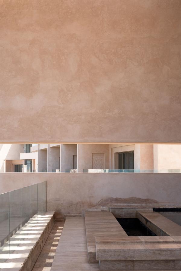 Fairmont Taghazout Bay – Détails d'architecture © Jean-François Guggenheim
