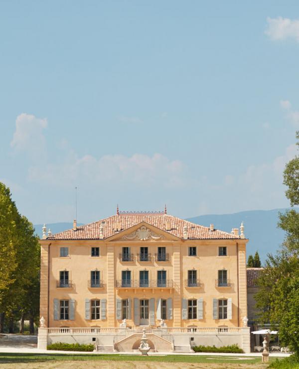 Château de Fonscolombe – Façade © DR
