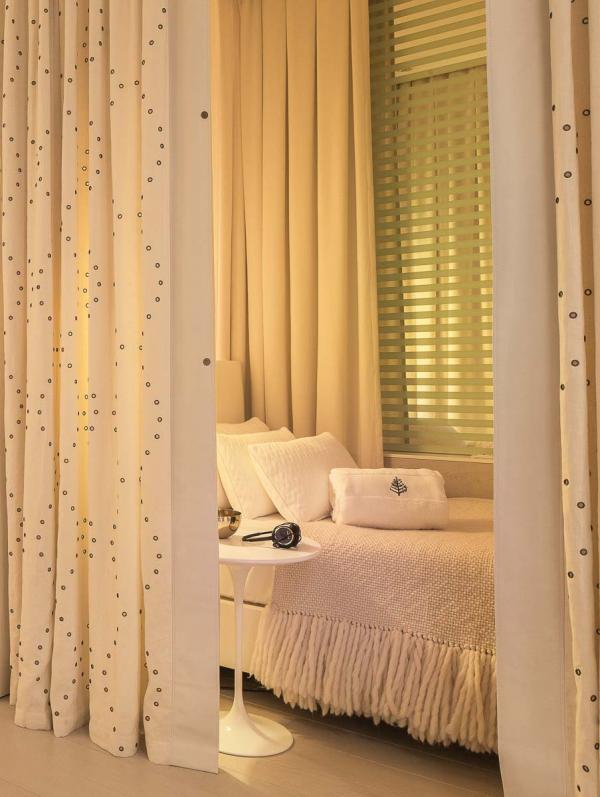 Four Seasons Hotel Megève - Cabine de soin au Spa © Four Seasons