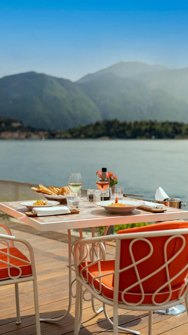 Giacomo al Lago au Grand Hotel Tremezzo © Grand Hotel Tremezzo