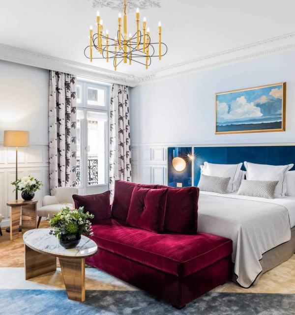 Hôtel Grand Powers – Blue Prestige Junior Suite © DR