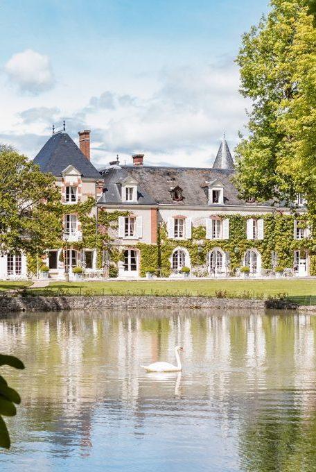 Les Hauts de Loire – Vue extérieure de l'hôtel © DR