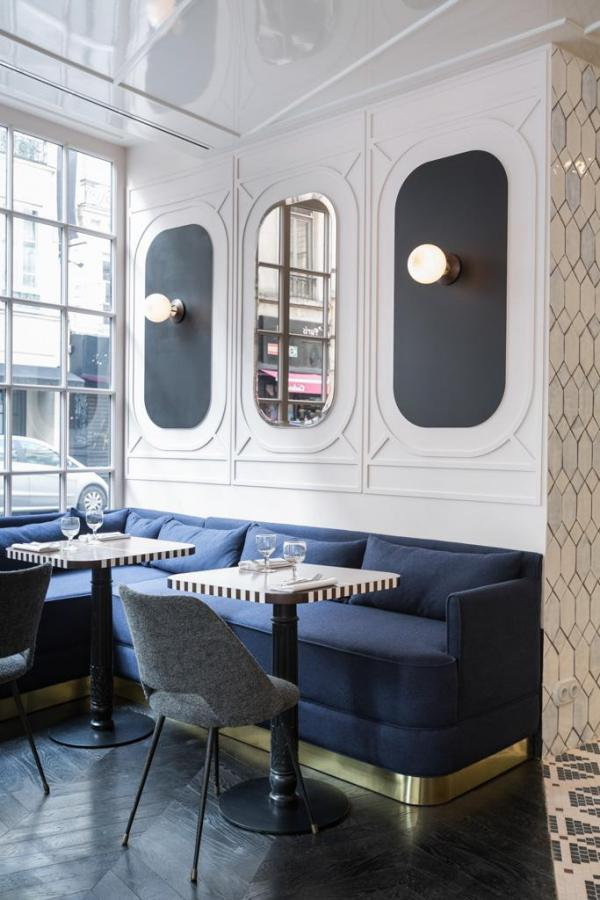 Hôtel Panache – Le restaurant Café Panache © Hôtel Panache