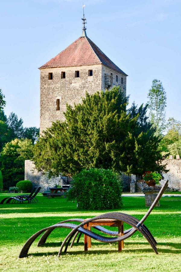 Hôtel Château de Vault-de-Lugny : le parc © Emmanuel Laveran