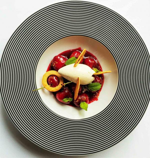 Dessert aux cerises © DR