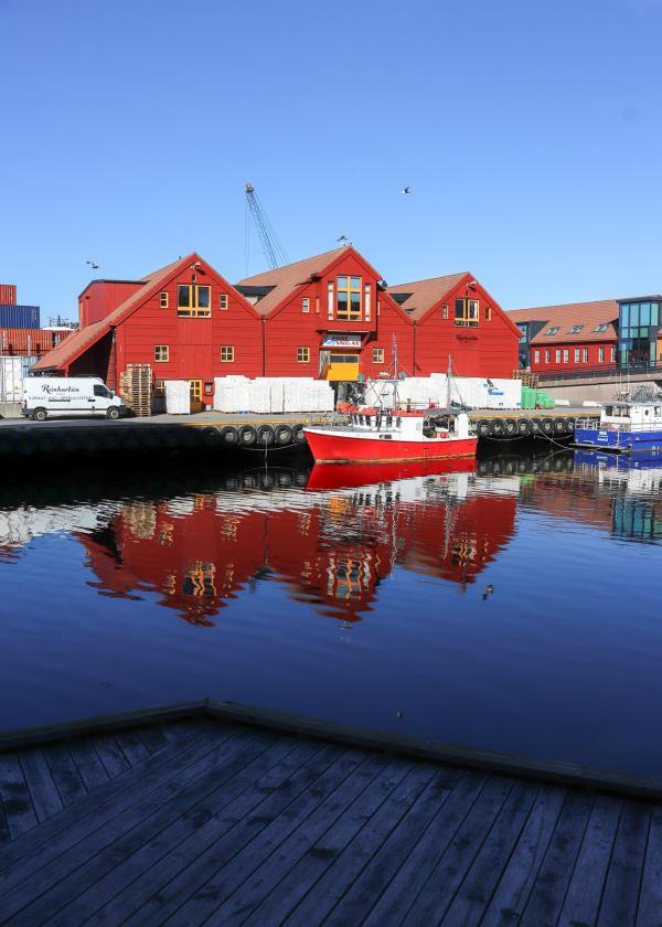 Aux abords du Kunstsilo Art Museum de Kristiansand, Norvège - © Joëlle Bah-Dralou
