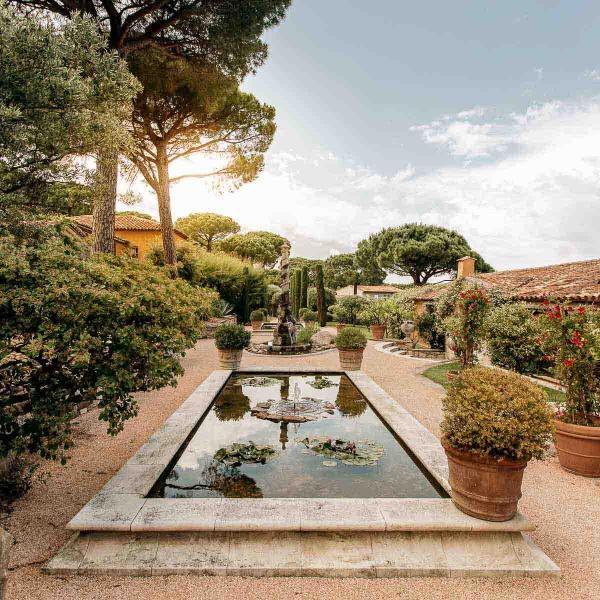Villa Marie — jardin © DR