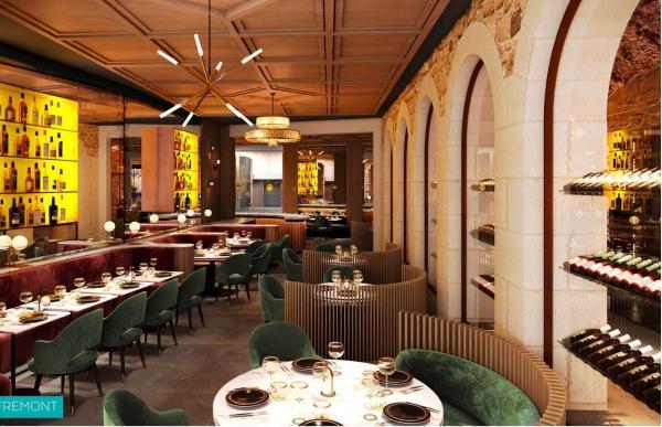 Le nouveau restaurant La Source au Château de la Gaude © Richard Haughton