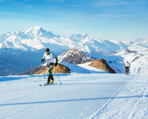 La Plagne – Ski de randonnée © E. Sirparanta