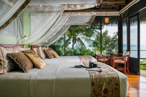 Lapa Rios Lodge - Les chambres sont ouvertes sur un panorama à couper le souffle © DR
