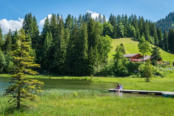 Lac de Lauenen © Destination Gstaad