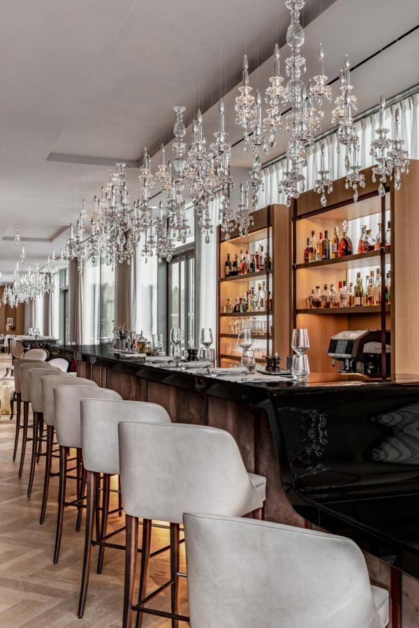Le Bellevue Bar | Royal Champagne Hôtel & Spa © DR