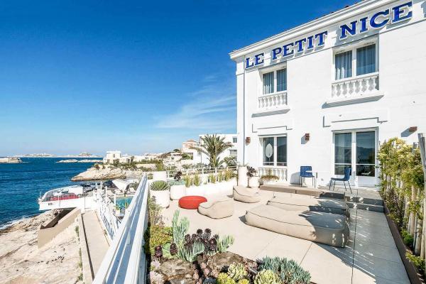 Le Petit Nice (Marseille) – Terrasse © Richard Haughton