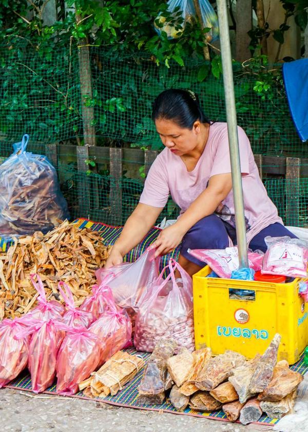 Luang Prabang Morning Market © YONDER.fr