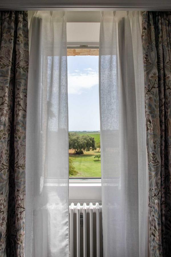 La Maison d'Estournel – Chambre avec vue sur les vignes © DR