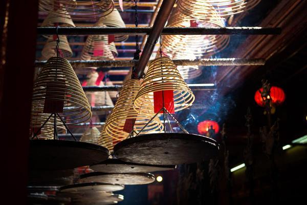 Le Mo Man Temple dans Old Town Central © Nicolas Hoizey