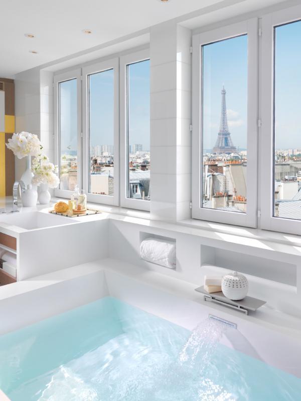 Mandarin Oriental Paris — Mandarin Penthouse Suite © Mandarin Oriental