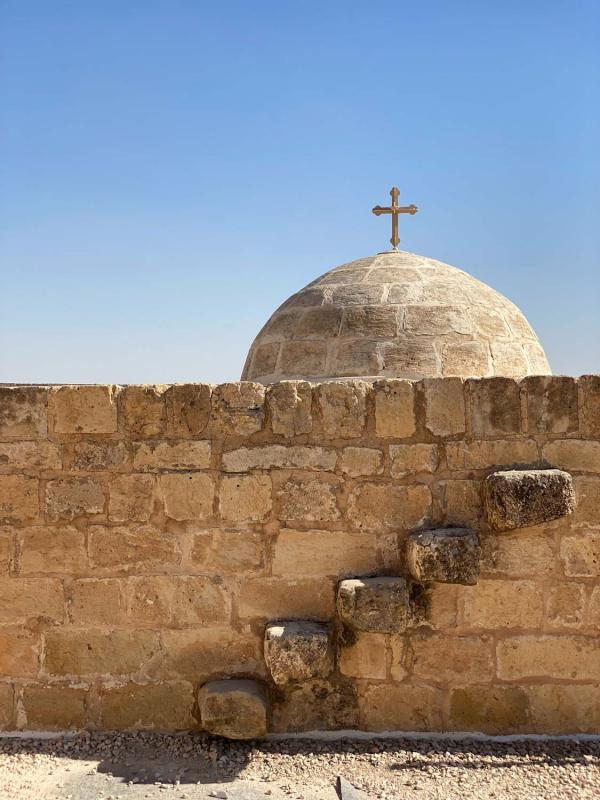 Monastère Deyrulzafaran (Mor Hannanyo), l'un des monastères syriaques orthodoxes majeurs, fondé au Ve siècle © Emmanuel Laveran