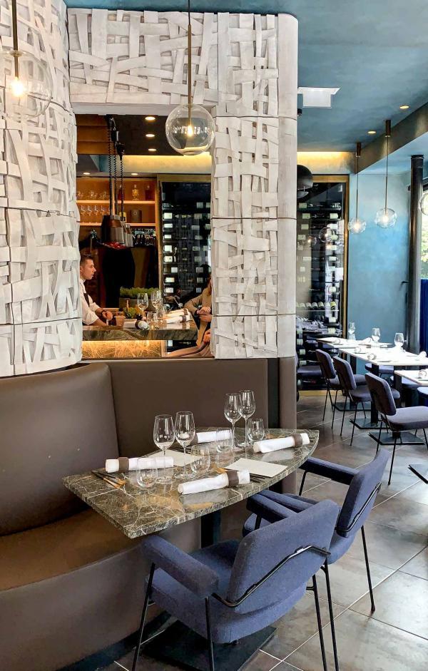Intérieur du restaurant Substance © YONDER.fr