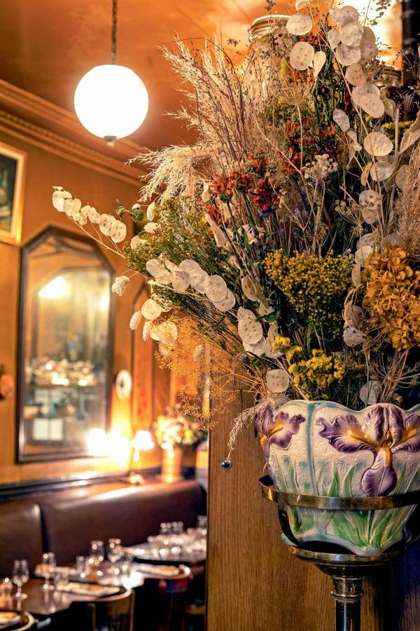 À l'Épi d'Or – Détails de décoration en salle © Benedetta Chiala