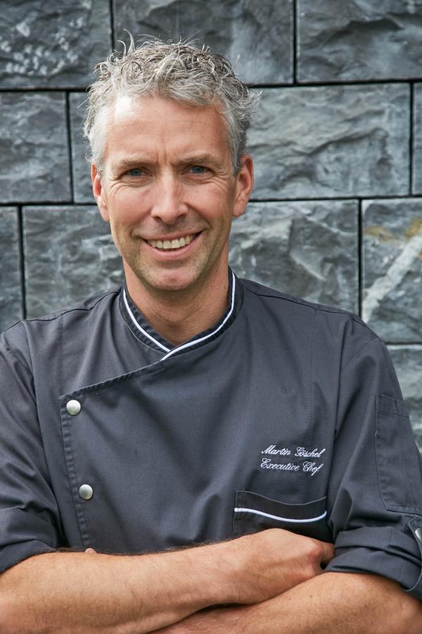 Le chef Martin Gösche © Alpina Gstaad / Michael Sinclair