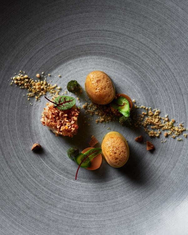Sommet — cuisine © Alpina Gstaad / Michael Sinclair