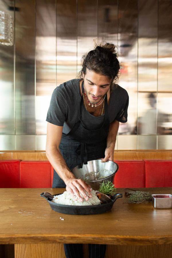 Tortuga | Le chef Julien Sebbag est aux commandes du restaurant © The Social Food