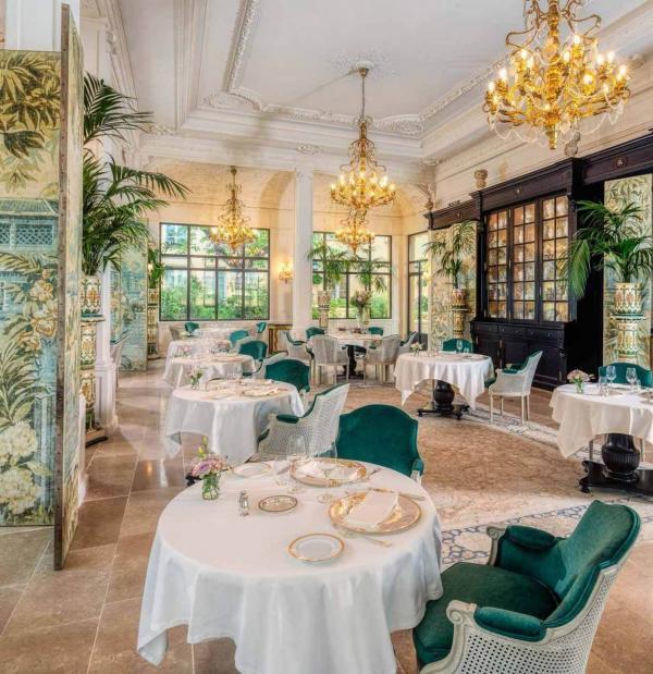 Villa Saint-Ange – Restaurant © Villa Saint-Ange