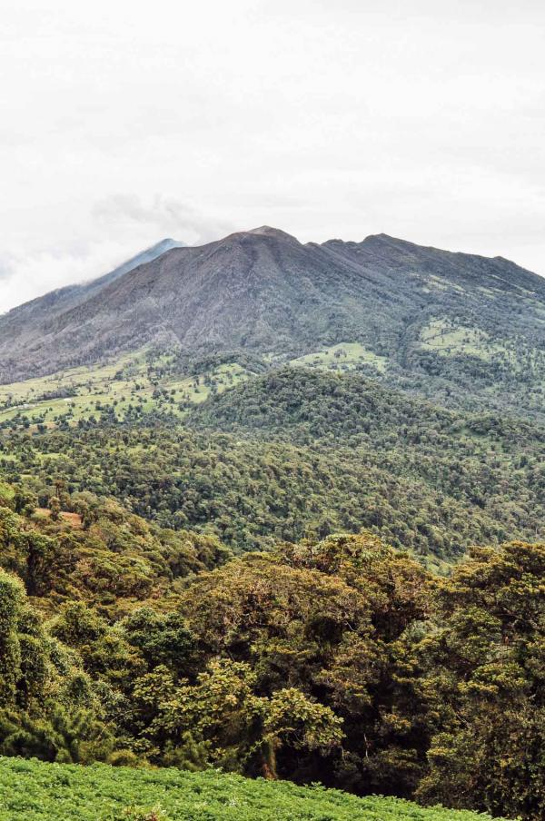 Le volcan Turrialba © Constance Lugger