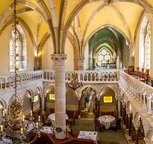 Abbaye de la Bussière – Le restaurant © Abbaye de la Bussière