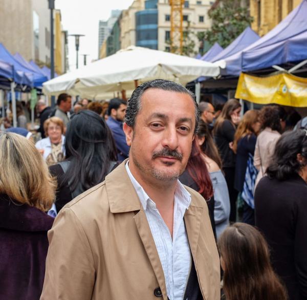 Kamal Mouzawak est le fondateur du Souk El Tayeb et de Tawlet © DR