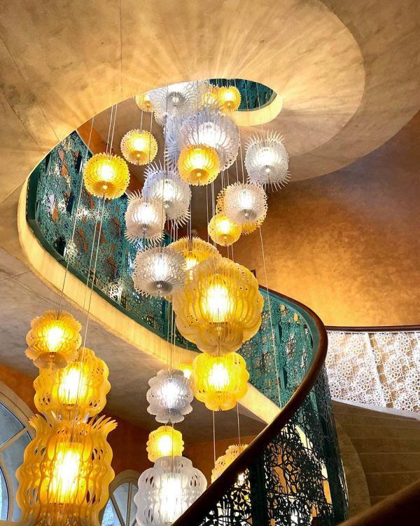 Hôtel L'Arlatan à Arles | Escalier © Hervé Hôte
