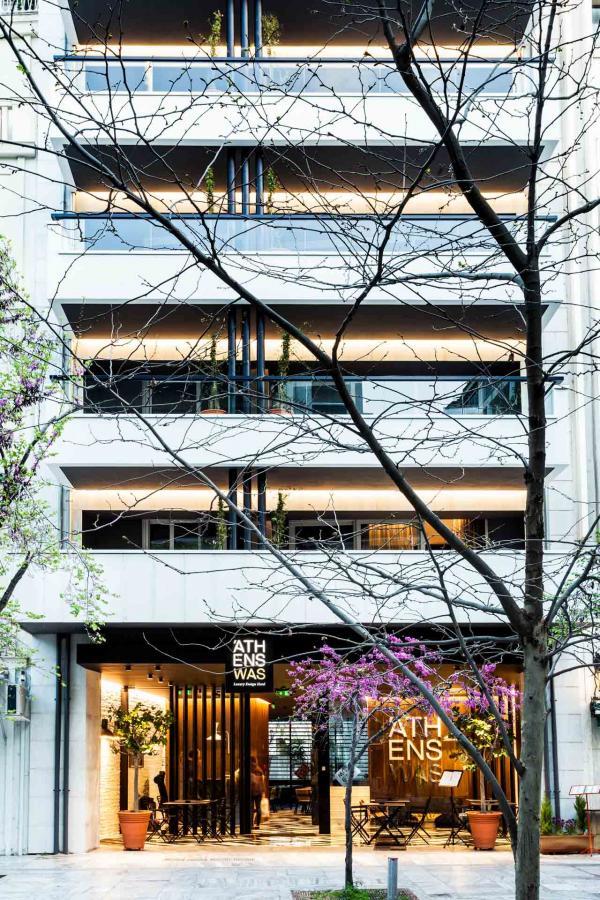La façade de l'AthensWas Hotel © DR