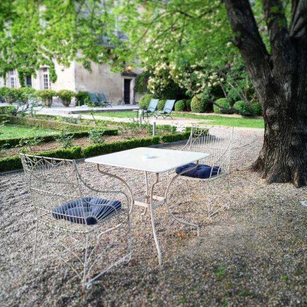 Le jardin de Baumanière © YONDER.fr