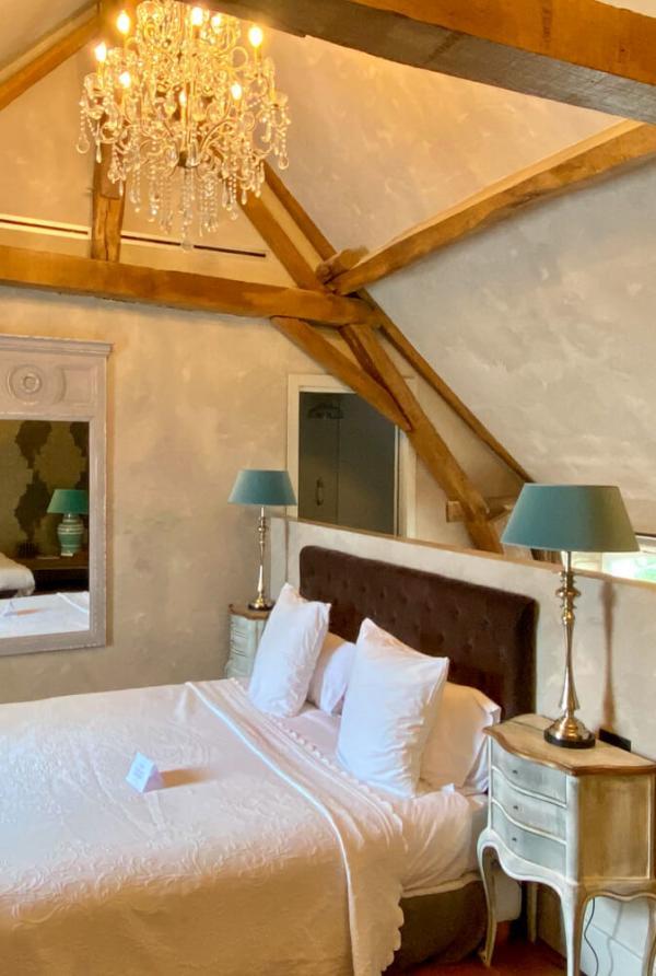 Chambre au Château de l'Epinay © EL | YONDER.fr