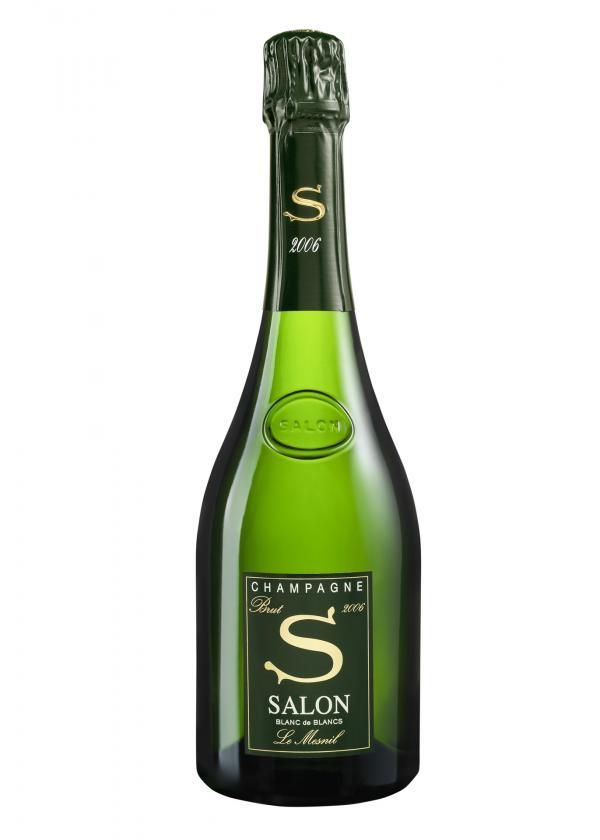 Champagne Salon millésime 2006, le dernier à être disponible sur le marché © DR