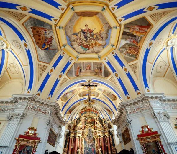 L'église baroque de Saint-Nicolas de Véroce © Pascal Deloche
