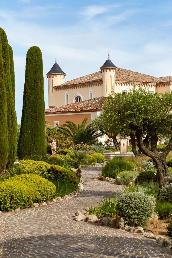Château de la Messardière - Entrée du palace © David Grimbert
