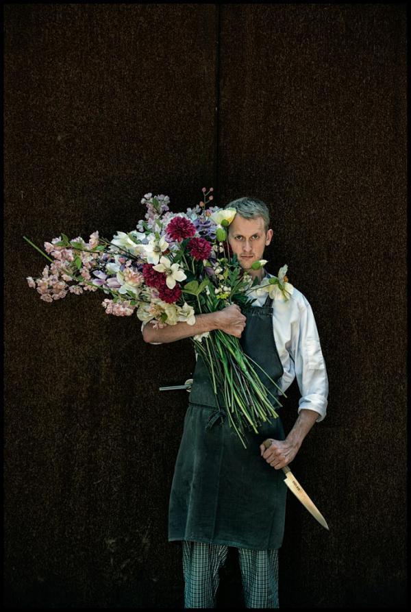 Le jeune chef Davy De Pourcq (Volta.), 27 ans seulement © Michaël Dehaspe
